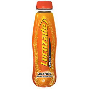 Lucozade 380ml Orange