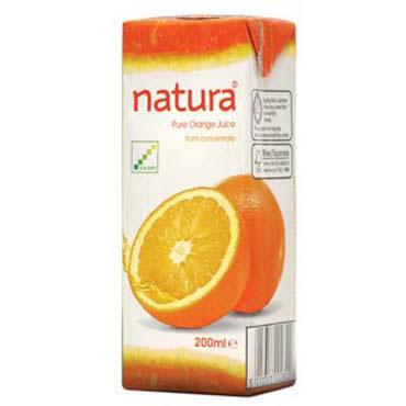 Orange Natura Large Carton